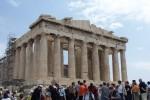 The Parthenon,  Dedicated to Athena.