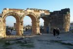 Hierapolis 3 arch entrance.