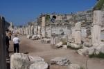 Ephesus, Entering the street