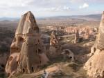Valley of Rock Formations in Cappadocia