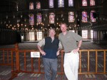 Ken and Kurt at the Blue Mosque