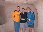 John, Ken and Kurt at the Underground City