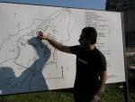 Atakan shows us the site of Miletus